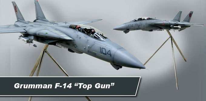 Large Floor Model F-14 from the movie TOP GUN