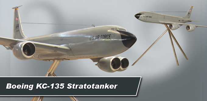 Large Floor Model Boeing KC-135 Stratotanker