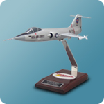 Lockheed F-104A Starfighter Scale Model Airplane