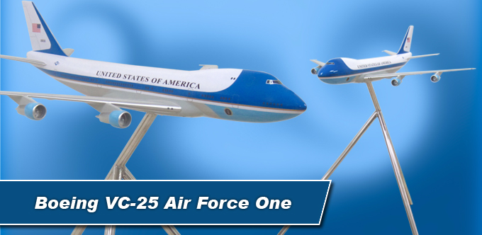 2.5 Foot Long Boeing VC-25 Air Force One