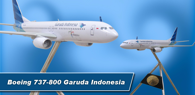 3 Foot Long Boeing 737-800 Garuda Indonesia